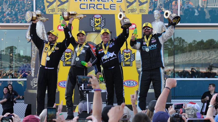 NHRA Gatornationals winners 2017