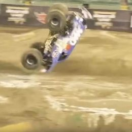 Video: Watch the First-Ever Monster Truck Front Flip