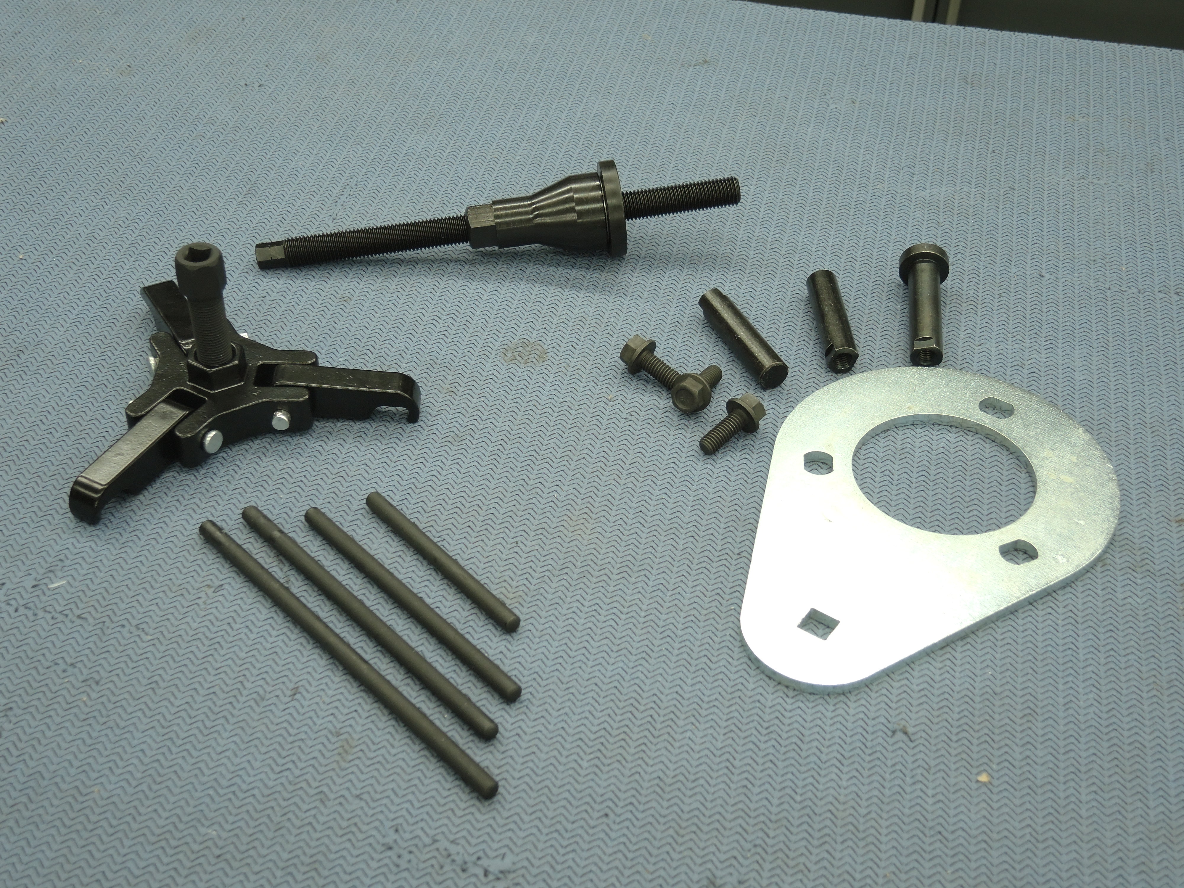 How To Use An Ls Harmonic Balancer Puller And Installer Tool