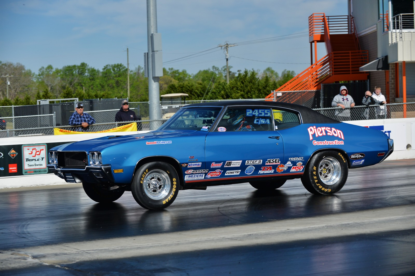 NHRA Pro Stock Champion Jason Line Returns To Sportsman Racing - Buick stock