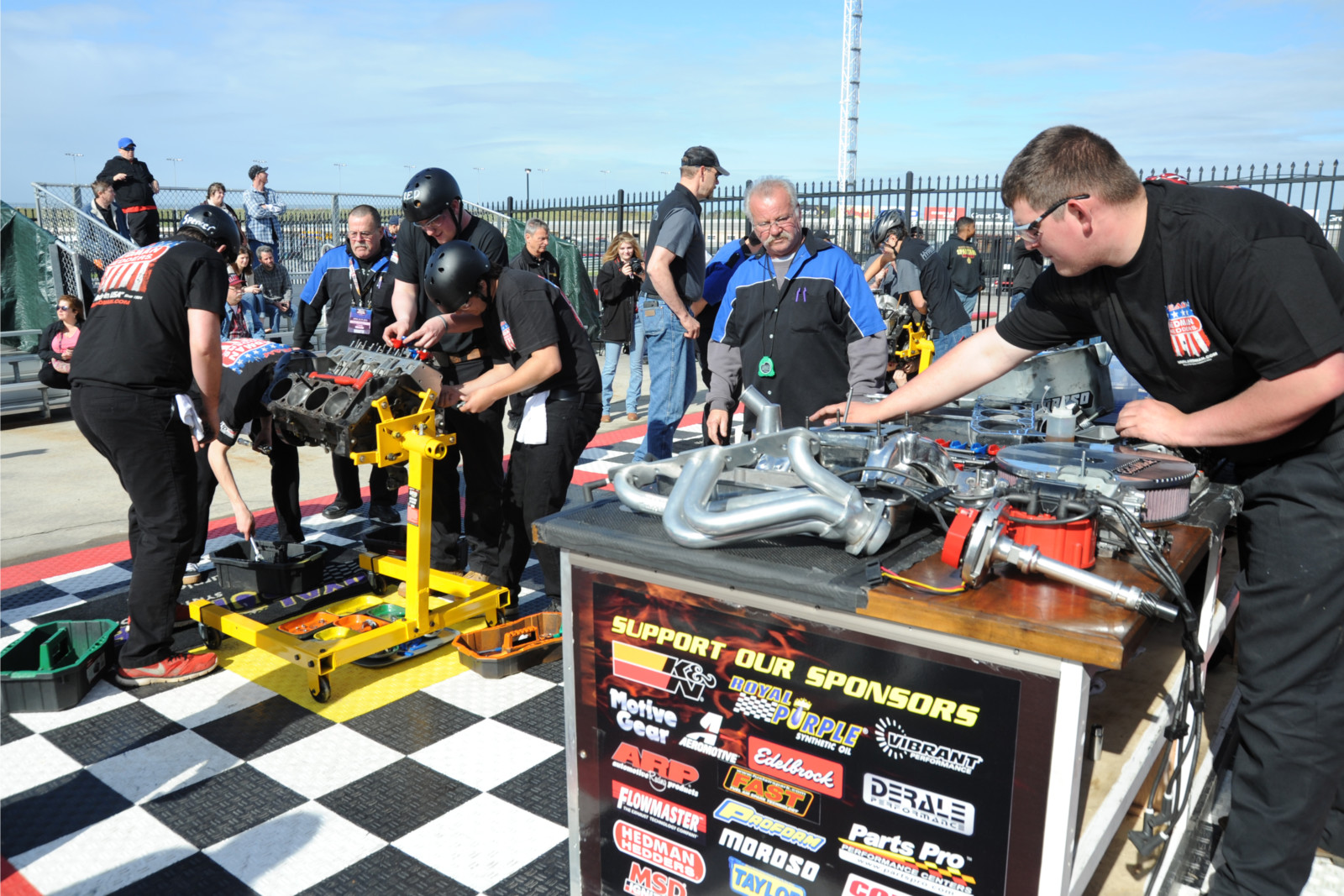 Young Engine Builders Show Off Their Skills in the Hot Rodders of ...