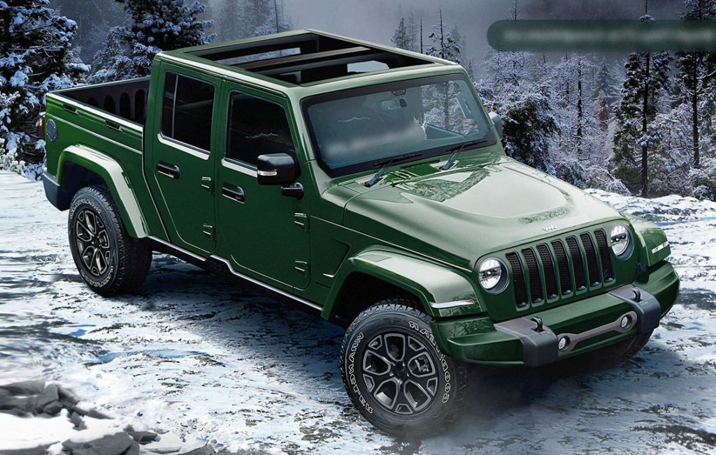 New Spy Shots Show 2020 Jeep Wrangler Pickup with ...