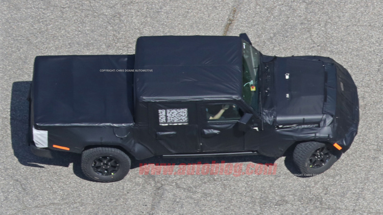 New Spy Shots Show 2020 Jeep Wrangler Pickup With Production Ready