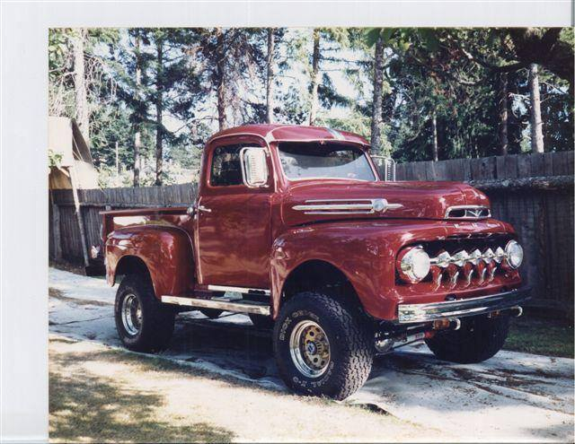 bruces 1952 Ford 4x4