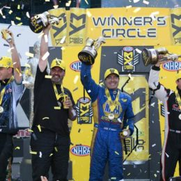 NHRA Four Wide Nats Winners 2017