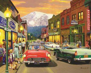 Nostalgic Main Street jigsaw puzzle