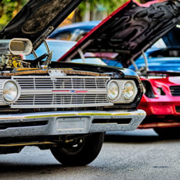 classic car show in historic old york city south carolina
