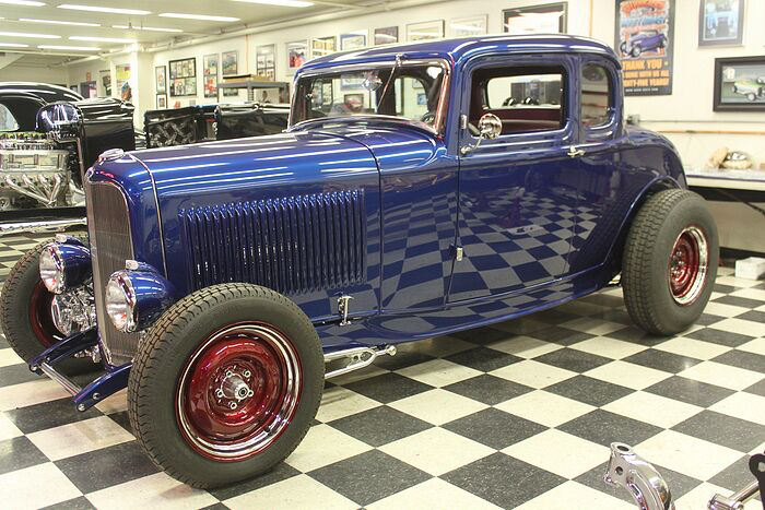 '32 Ford 5-window coupe - Company Coupe - United Pacific