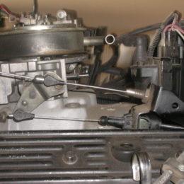 tv cable adjustment carburetor