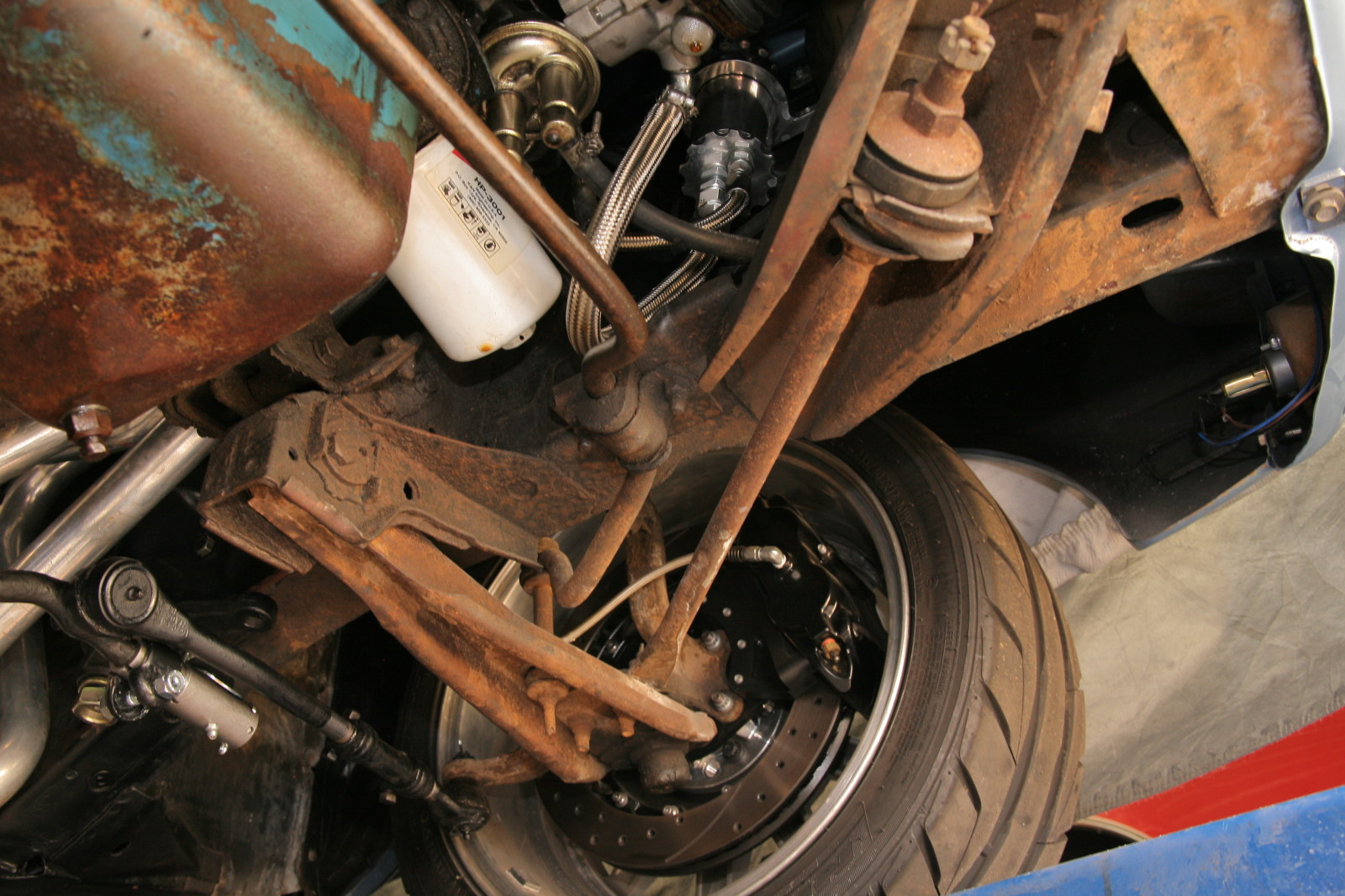 Surefooted Steed: Adding a RideTech Coilover Suspension