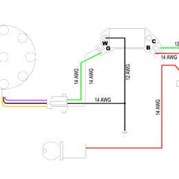 HEI module wiring schematic