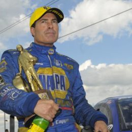 Ron Capps isn't messing around in 2017, nabbing his sixth NHRA Funny Car win of the season Sunday in Joliet, IL. (Image/NHRA)