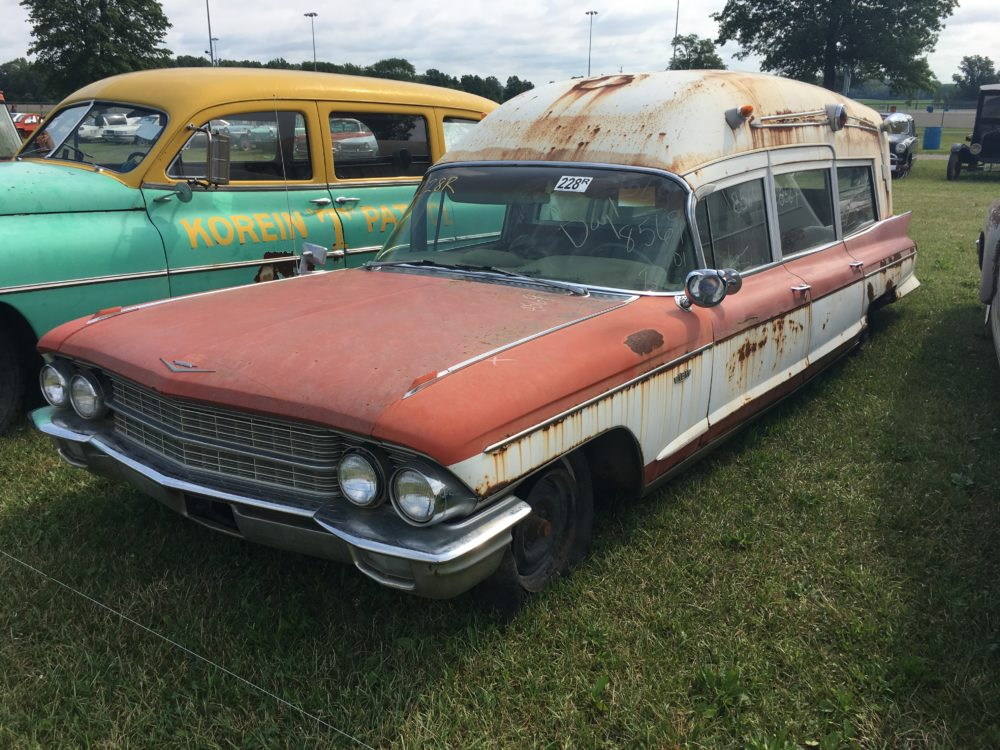 1962 Cadillac Miller Meteor Over the Top Rescue Unit Ambulance