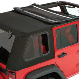 Bestop Trektop Pro soft top for Jeep Wrangler JK