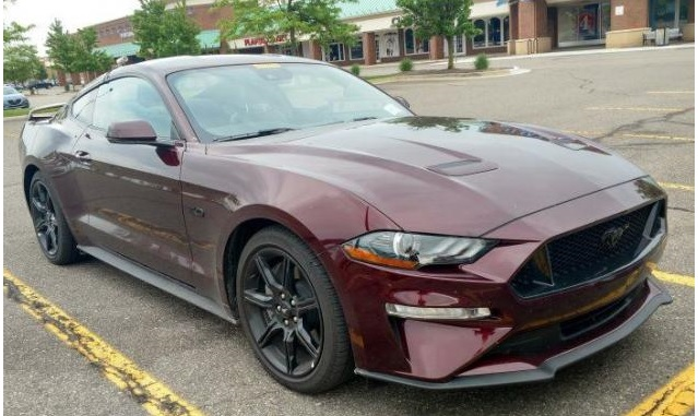 2018 Ford Mustang GT Crimson
