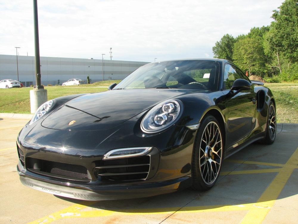Porsche 911, Dark Blue
