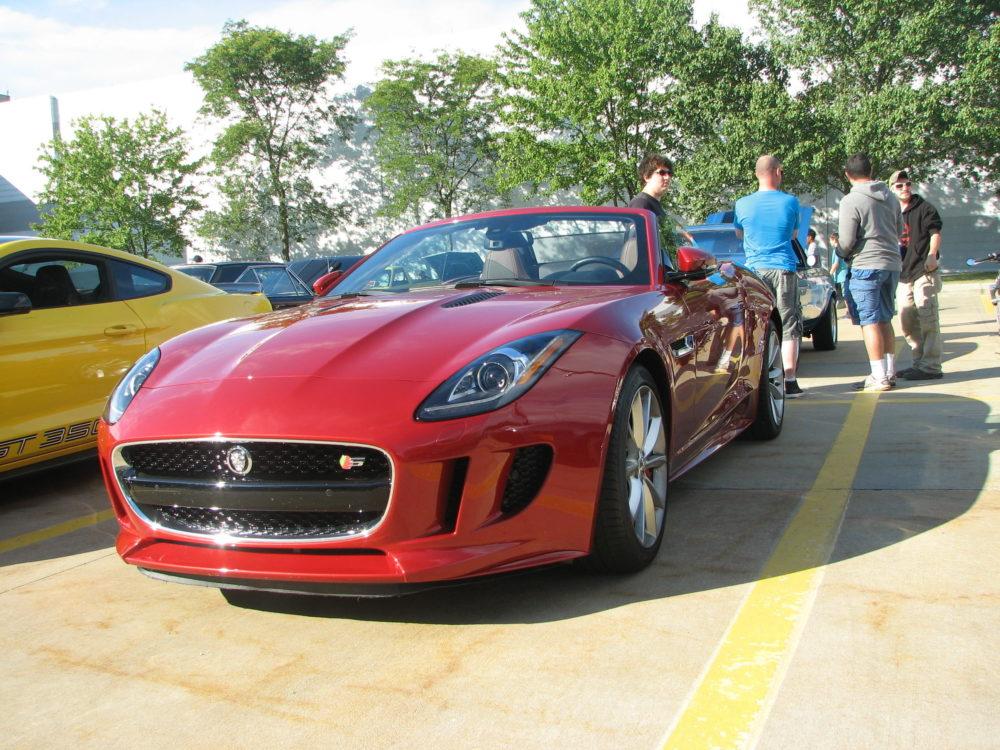 Jaguar F Type, Red