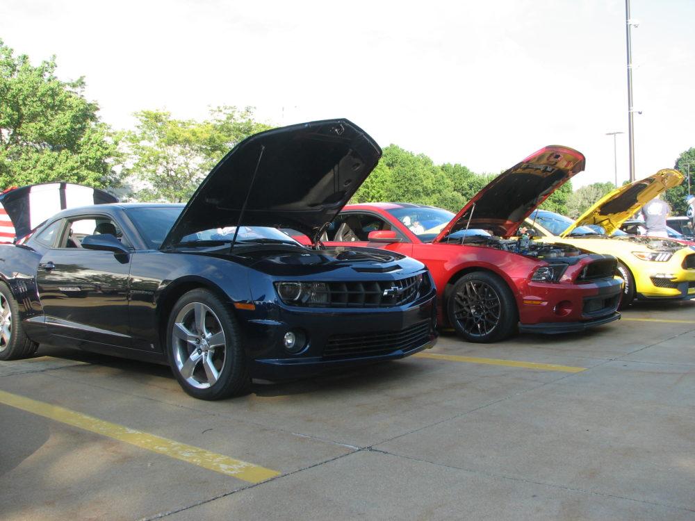 Camaro and Mustang