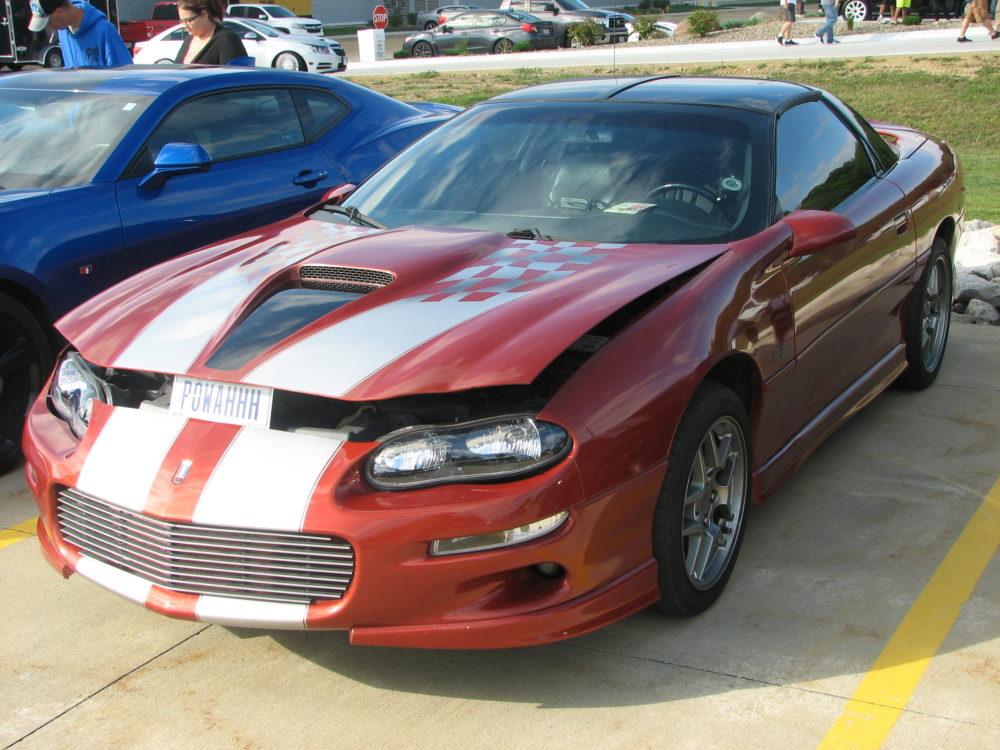Chevy Camaro, Red