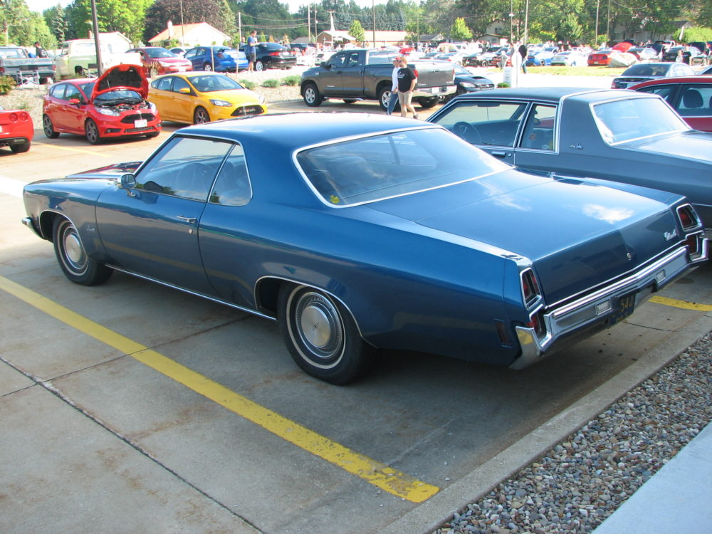 Oldsmobile Coupe, Blue
