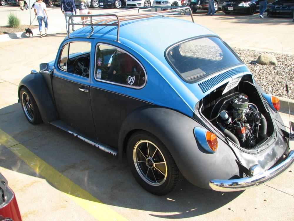 Volkswagen Beetle, Blue