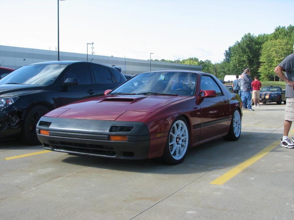 Mazda RX-7, Red