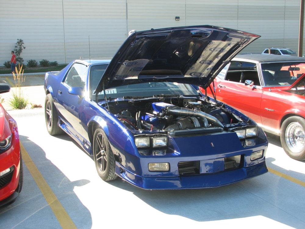 Chevy Camaro, Blue