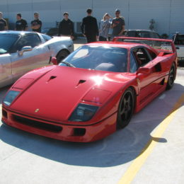 Ferrarri F40, Right, Red
