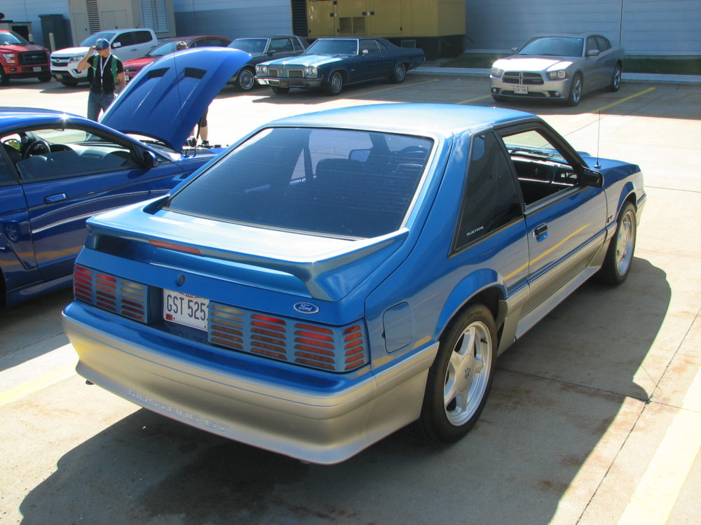 Ford Mustang Fox Body, Blue