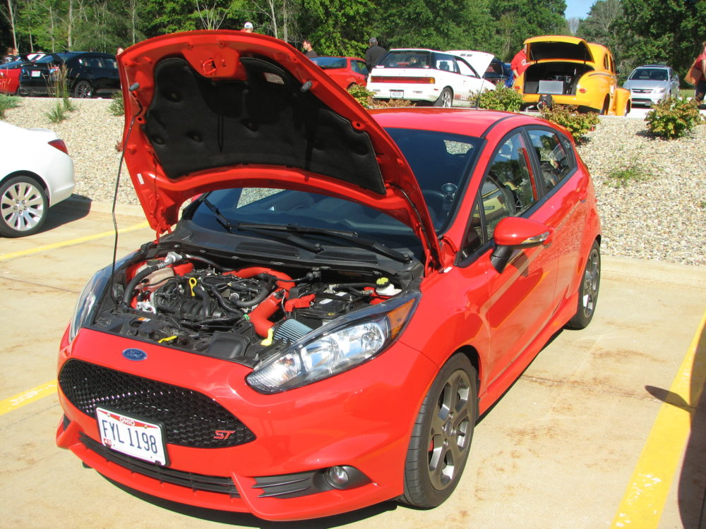 Ford Fiesta ST, Red