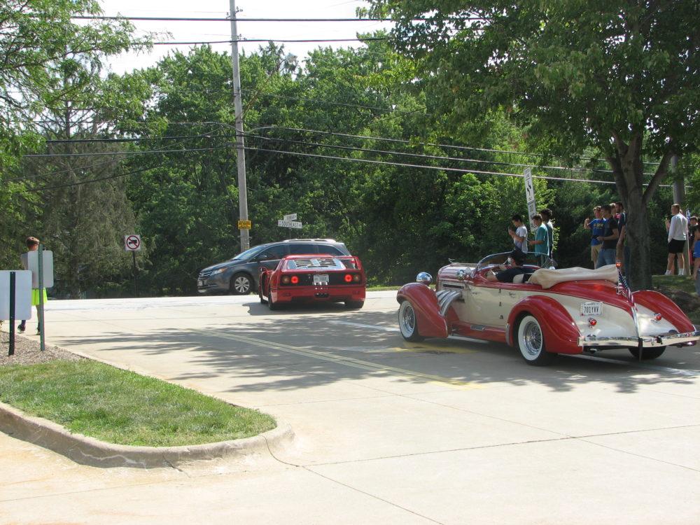 Ferrari F40 and Auburn Speedste