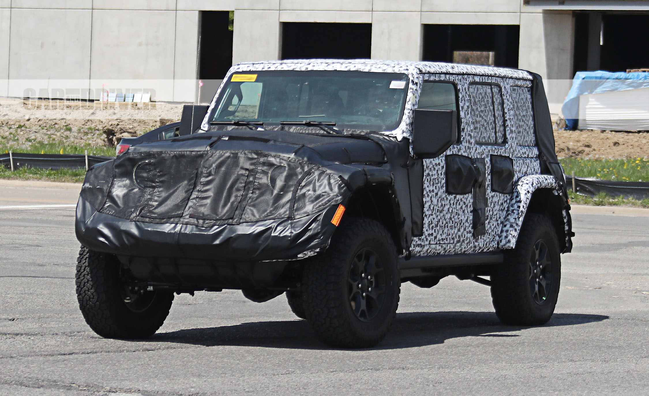 2018 jeep offroad. brilliant jeep 2018 jeep wrangler jl spy photo inside jeep offroad
