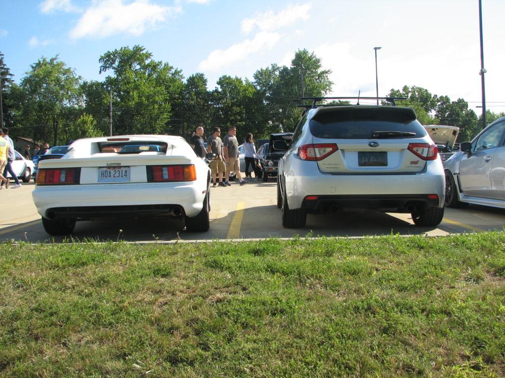 994 Lotus Esprit S4, Parking Lot