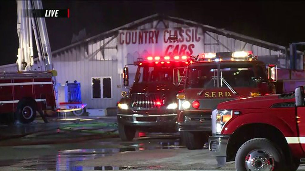 Huge Warehouse Fire Destroys Several Vintage Vehicles in Illinois ...
