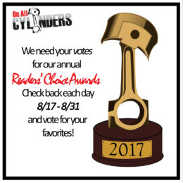 Vote Now in the 4th Annual OnAllCylinders Readers' Choice Awards!
