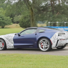 2018 Corvette ZR1 side view