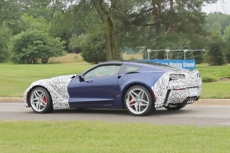 SPY SHOTS: See the 2018 Chevy Corvette ZR1 - OnAllCylinders