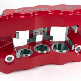 Baer six-piston brake caliper