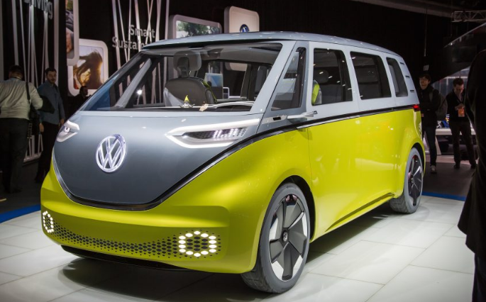 volkswagen  build  electric microbus onallcylinders