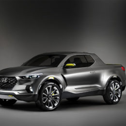 Hyundai Santa Cruz Concept Vehicle