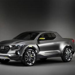 Hyundai's Santa Cruz concept that debuted in 2015. (Image/Hyundai)