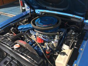 1968 1/2 Cobra Jet Mustang engine