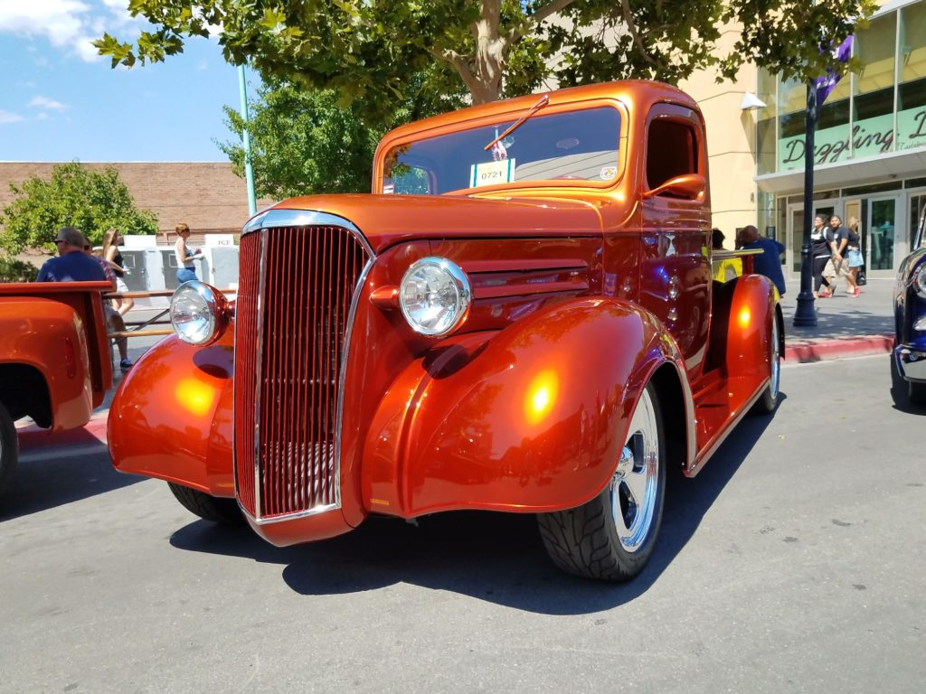 1937 Chevy Truck Street Rod, Front
