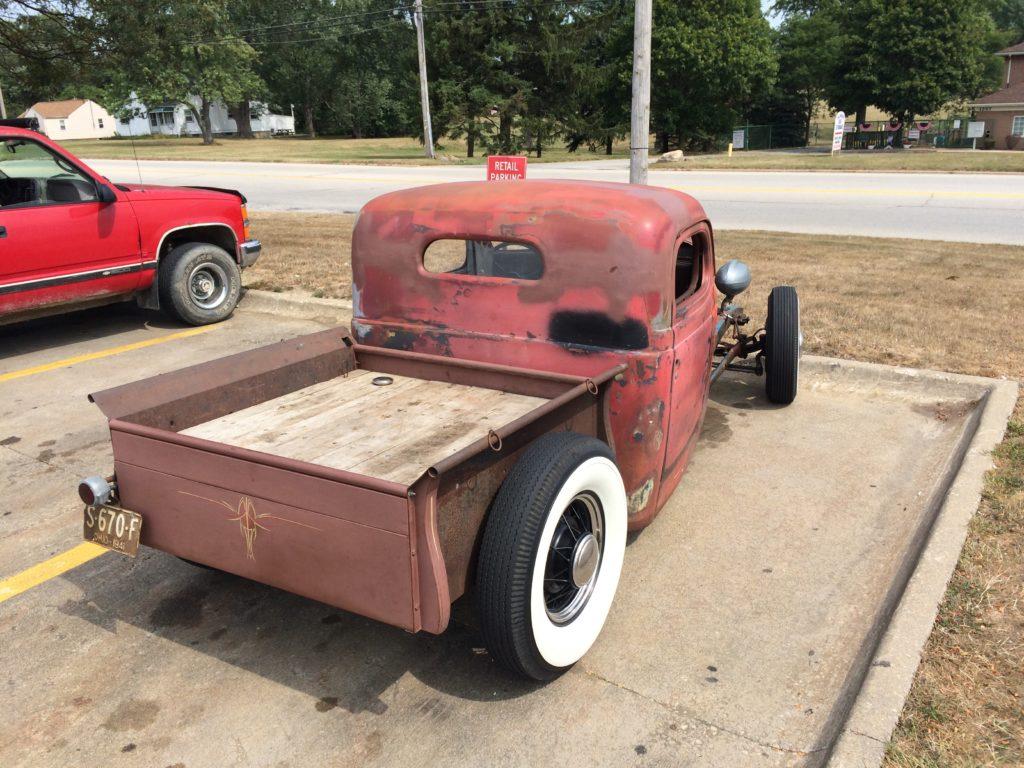 1941 Chevy Pickup Rat Rod, Passenger Side