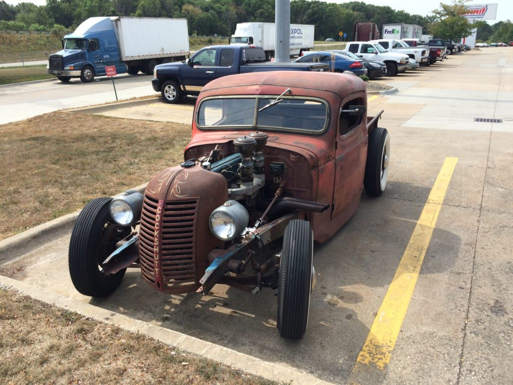 1941 Chevy Pickup Rat Rod, Front