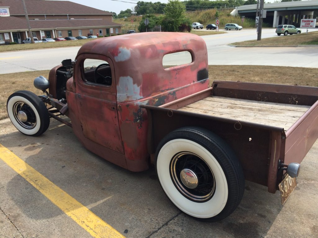 1941 Chevy Pickup Rat Rod, Driver Side