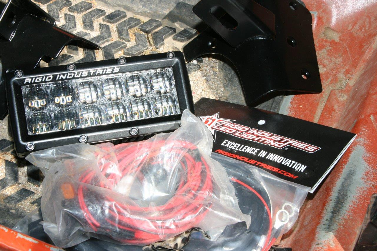 Installing Rigid Industries Auxiliary Led Lights On A Jeep Wrangler Wiring Light Bar Jk Each Kitexcept For The Overhead Barfrom Comes With Mounting Bracket Complete Loom Switch And Relay If