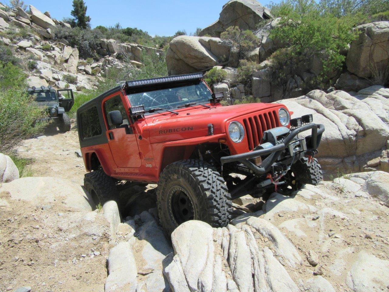 Installing Rigid Industries Auxiliary Led Lights On A Jeep Wrangler Wiring This Grade 7 Trail Outside Of Kingman Az Is Indicative The Trails Which We Use