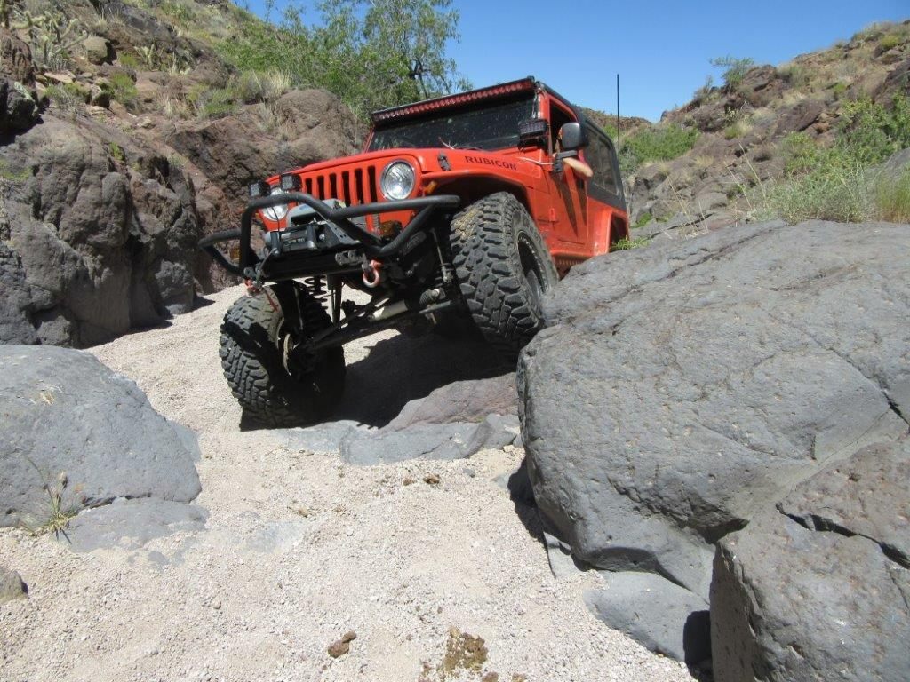 Maneuvering Over And Around Boulders Such As These Requires Strong  Systemsu2014both Steering And Suspension. (Image/Jim Brightly)