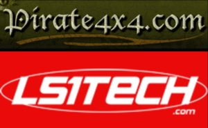 LS1 Tech and Pirate 4x4 Logos